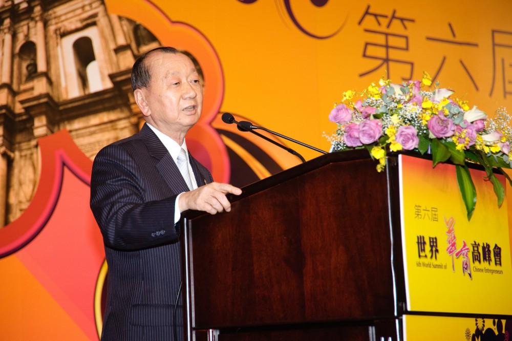 台灣商業總會理事長張平沼先生