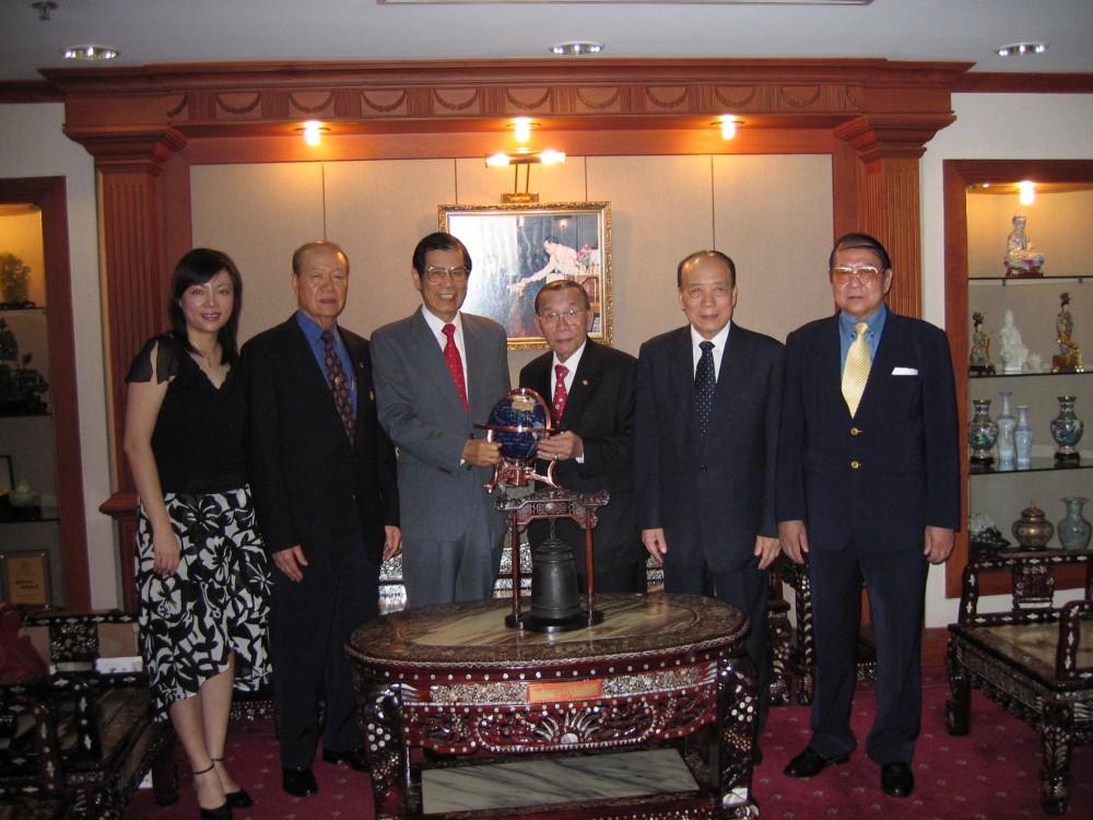 訪問泰國中華總商會鄭明如會長