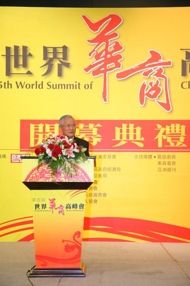 台灣前行政院院長唐飛先生