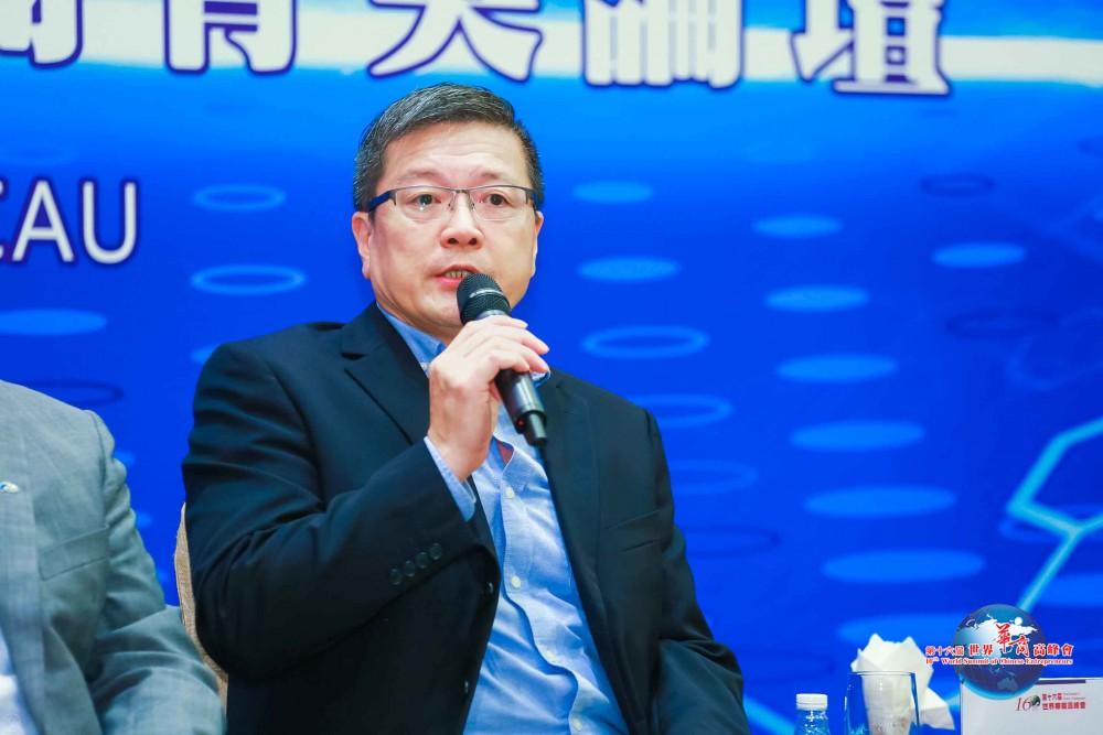 領導力新型態與華商菁英論壇-論壇嘉賓香港理工大學院校暨企業合作總監林德明先生