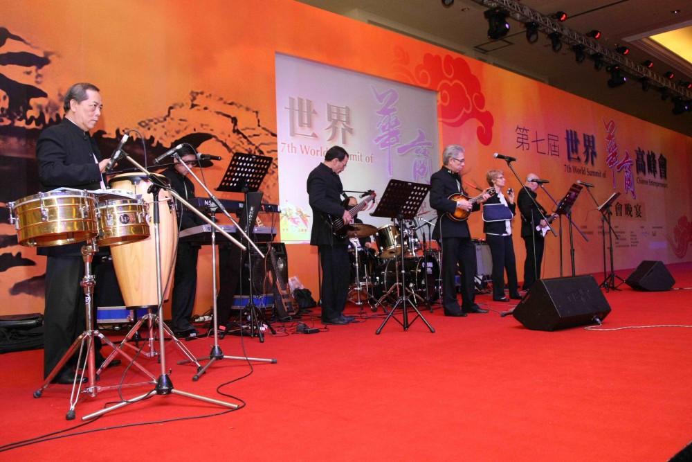 大會音樂晚宴-表演嘉賓為澳門人樂團