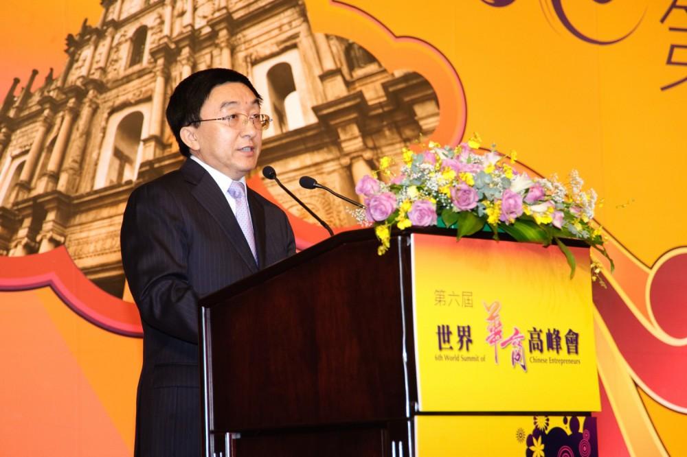 中國旅遊協會副會長吳文學先生
