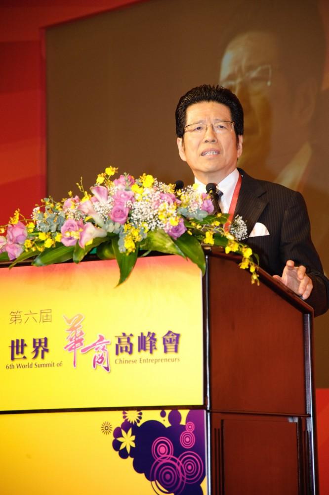 台灣觀光協會榮譽會長、麗緻國際管理顧問集團總經理嚴長壽先生