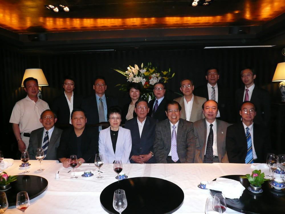 歐洲華商社團領袖聚首英國倫敦