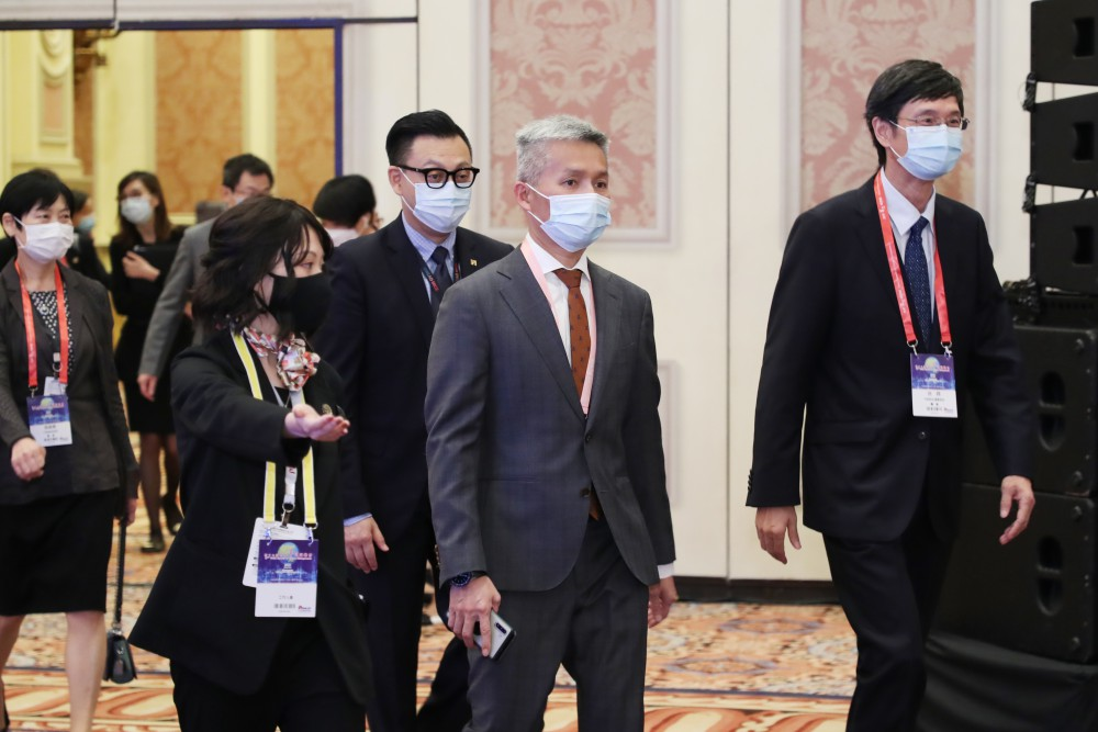 第十七屆世界華商高峰會開幕典禮一景