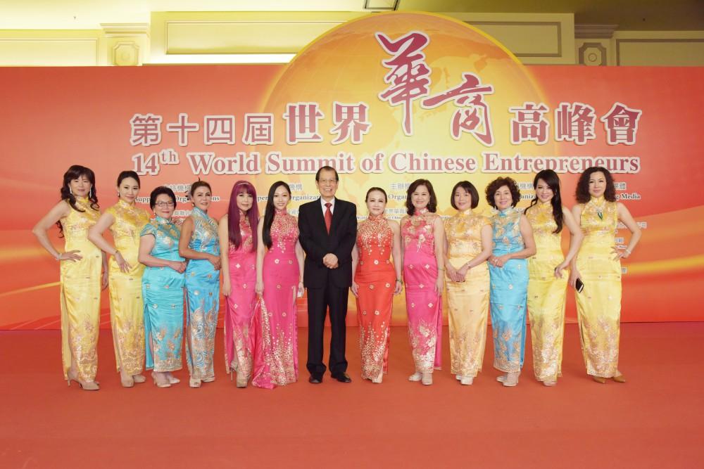 晚宴旗袍秀,展現中華傳統文化