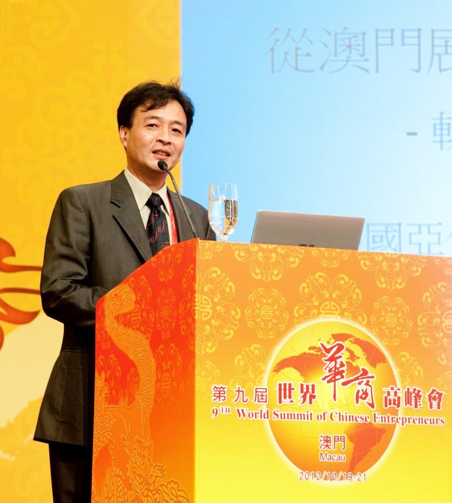 英國亞伯丁大學生化營養博士陳志祥先生