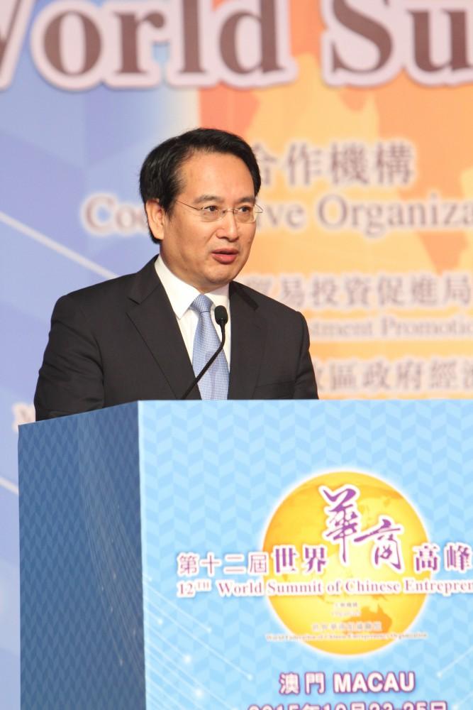中國國務院僑務辦公室副主任譚天星先生致辭