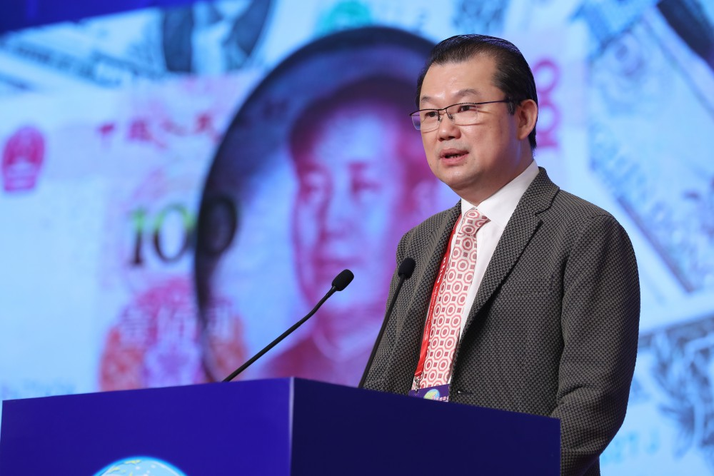 第十七屆世界華商高峰會主題論壇-主題演講嘉賓中國城市運營聯盟理事長林竹先生