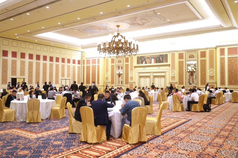 第十七屆世界華商高峰會午宴一景